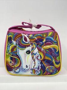Brand New Lisa Frank Rainbow Horse Pony Lunchbox Glittery Pink