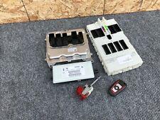 BMW F30 F32 328I 428I (12-17) 2.0 N26 ENGINE DME ECU COMPUTER LOCK KEY OEM SET