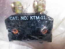 NEW AUXILIARY CONTACT (N.O.) / CONTROL LIMIT SWITCH 10A 600V JOSLYN CLARK KTM-10