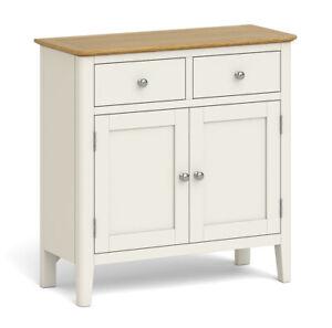 Elwick Cream Painted Mini Sideboard / Modern Painted Cupboard / Cabinet Storage