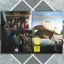 Yellowstone Seasons 1 & 2 (DVD, 2019, Region 1) Fast shipping USPS First Class