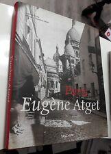 PARIS Eugène Atget 1857-1957 TASCHEN 2008 25° anniversario Ediz. Multilingue