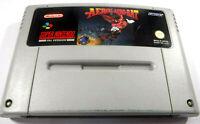 Aero The Acrobat SNES Super Nintendo Acro Bat