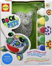 ALEX Toys 665W Crafts Rock Pets Garden Frog Coloring & Painting, Craft Kits New