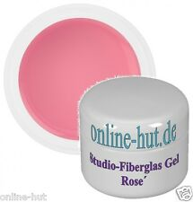 30ml Studio-Fiberglas Gel Rose´ mittelviskos, UV Gel, Fiberglas, Nailart