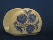 Kalocsa Hand Painted Porcelain Napkin Holder  laced with 24k Gold