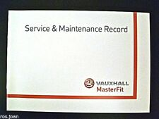 Vauxhall Service History Record Book  - VXR --  Models  Brand New Genuine*