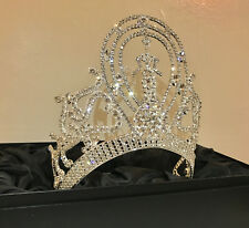 Miss Universe Classic Crown (Chandelier Crown) & Miss Universe Org Card