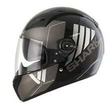CASCO SHARK VISION-R 2 CARTNEY MATT GREY BLACK TG. L