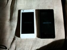 2x Medion E4503 smart mobile phones in both good working order UNLOCKED