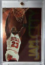 Michael Jordan 1995-96 Ultra Jam City #3, Rare Insert, Chicago Bulls HOF