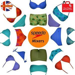 Speedo Mixers Ladies Bikini Tops Bottoms Briefs Sets Mix & Match Gym Swimming