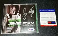 !Authentic Jamie Foxx Unpredictable CD Signed Autographed Album PSA JSA BAS !!