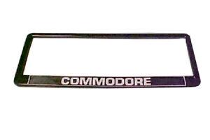 """Holden """"COMMODORE"""" Number Plate Frame VB VC VH VK VL VN VP VR VS -VY VZ surround"""