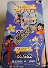 STEVEN UNIVERSE RETAIL CASE OF 36 SEALED DOG TAGS FREE SHIP