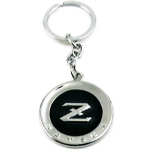 Chrome Black Datsun Z Keyring Key Chains Fob Pendant Nismo Fairlady 350 370 Z