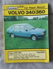 VOLVO 340 360 - From 1976  - Autodata Car Repair Manual