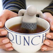 Lot De 2 Infuseur Infusion Thé Filtre Boule Bonhomme Mr Mister Monsieur Tea Neuf