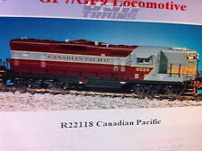 USA Trains G Scale GP7-9 Diesel Locomotive R22118 Canadian Pacific GP9 - Mar/Gry