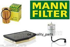 OEM MANN OIL AIR FUEL FILTER FILTERS SERVICE KIT PORSCHE BOXSTER 986 2.5 2.7 3.2