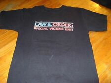 LAW & ORDER SPECIAL VICTIMS UNIT VINTAGE TEE SHIRT MEDIUM