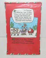 Vintage American Greetings Just My Style Christmas 18 Cards Santa's Reindeer NOS