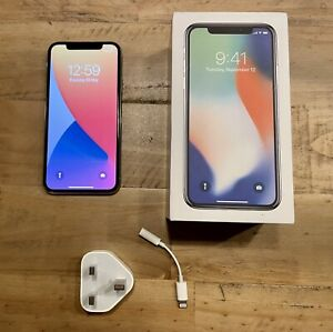 Apple iPhone X 64gb Silver (unlocked)