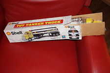SHELL 1997 CHROME TANKER TRUCK EQUITY MARKETING TOY