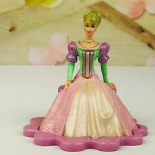 """Barbie In Dress Sitting On Bench 3.5"""" Tall PVC Figure Cake Topper"""