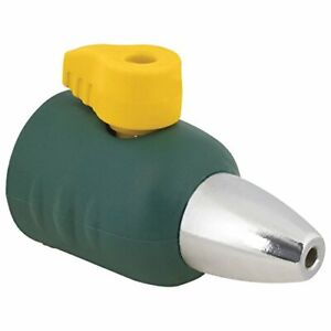 Garden Hose Jet Spray Ultralight Sweeper Nozzle with Shut Off