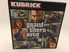 Grand Theft Auto IV Anniversary Kubrick Figure Set Rare Limited GTA IV Rockstar