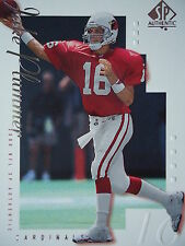 NFL 1 Jake Plummer Arizona Cardinals Topps 2000 SP Authentic