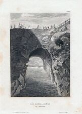 DER GOETA-CANAL in Schweden-StSt. um 1840 BIH-16,0x11,5 cm