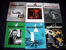 1991 Aviation Digest Magazine - FULL YEAR 6 Issues