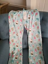 Frenchie Fleece PJ BottomsSize Large