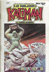 Kalicolor #78 - Abril 11, 1989 -  Mexico