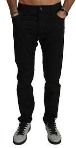 DOLCE /& GABBANA Pants White Pineapple Print Silk Sleepwear IT54// W38//XL RRP $900