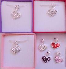 Markenlose versilberte Modeschmuck-Halsketten & -Anhänger mit Strass-Perlen