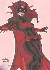 Cryptozoic DC Women Of Legend Color Sketch card Batwoman By Ryan Van Der Draaij