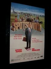 Original SPOTSWOOD EFFiCIENCY EXPERT Australian Style 1 Sheet ANTHONY HOPKINS
