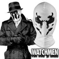 Watchmen Rorschach Walter Kovacs Cosplay White Mask Hood Balaclava