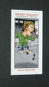PHILIP NEILL CARD FOOTBALL 2007 CHAMPIONS 1971-1972 DERBY COUNTY RAMS BOULTON