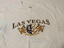 Las Vegas White T-shirt Shirt Mens S