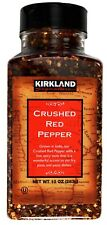 Kirkland Crushed Red Pepper Indian Hot Spicy, 10 OZ (283g)