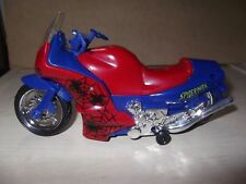 1997 Marvel Toy Biz Spiderman Moto motorized action travaille toujours