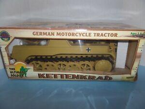 "ULTIMATE SOLDIER GERMAN MOTORCYCLE TRACTOR ""KETTENKARD"" 1/6 SCALE"