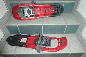Schneeschuhe von MSR, rot, Größen 40-45