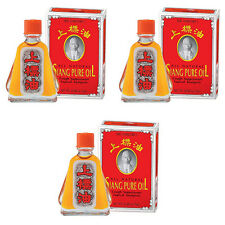 3x7ml SIANG PURE OIL Massage Herbal Health PEPPERMINT MENTHOL dizziness relief