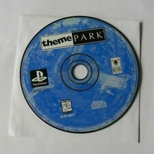 Theme Park (Sony PlayStation 1, 1995) DISC ONLY  FAST SHIPPING BULLFROG  PS1