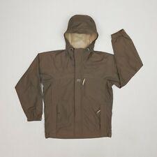 Helly Hansen Windbreaker Jacket/Raincoat  Medium Beige/Brown Hooded Full-Zip